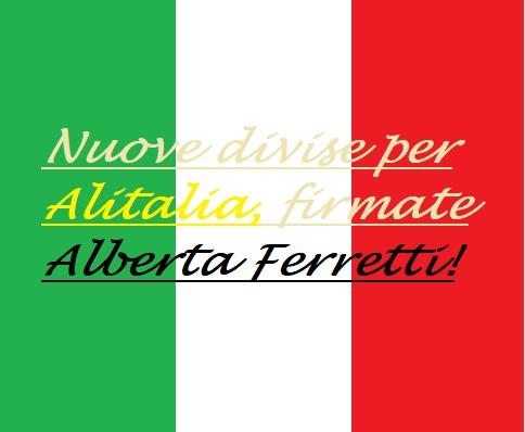 Aeffe per Alitalia
