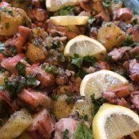 insalata di polipo e patate